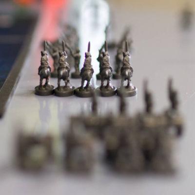 miniatuur soldaatjes als symbook voor credit risk management