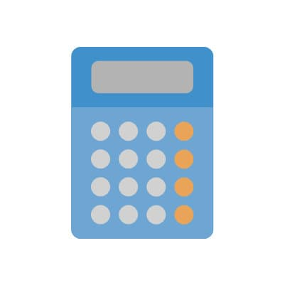 a calculator for calculating credit scores